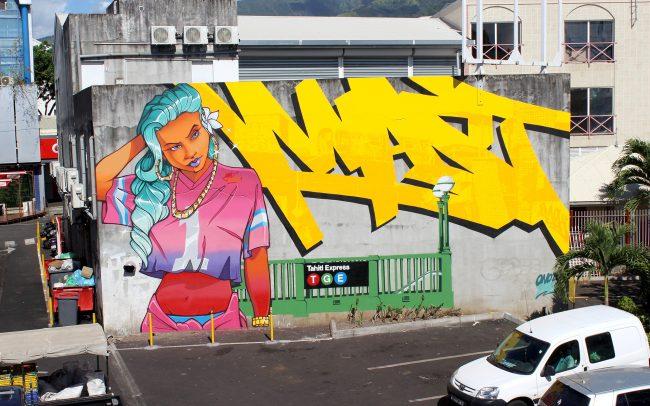 Anthony Mast Klughaus Graffiti