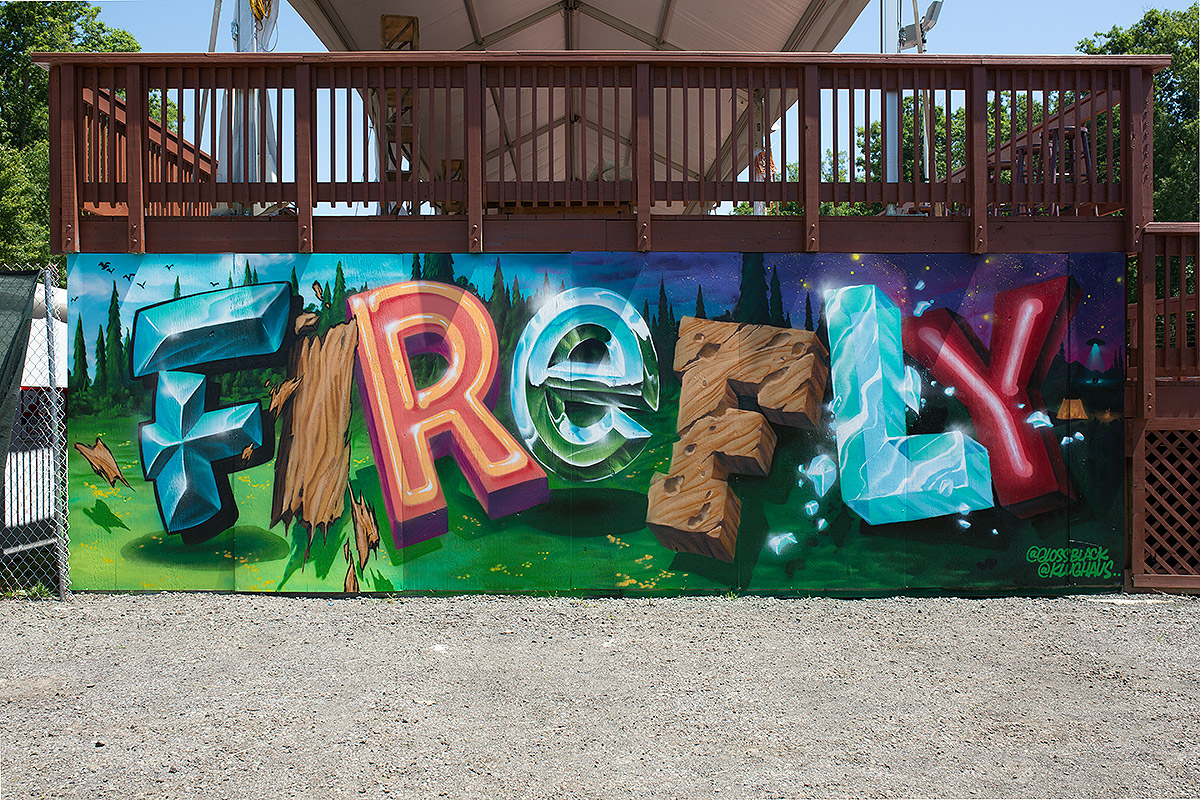 Firefly VIP Mural - Glossblack