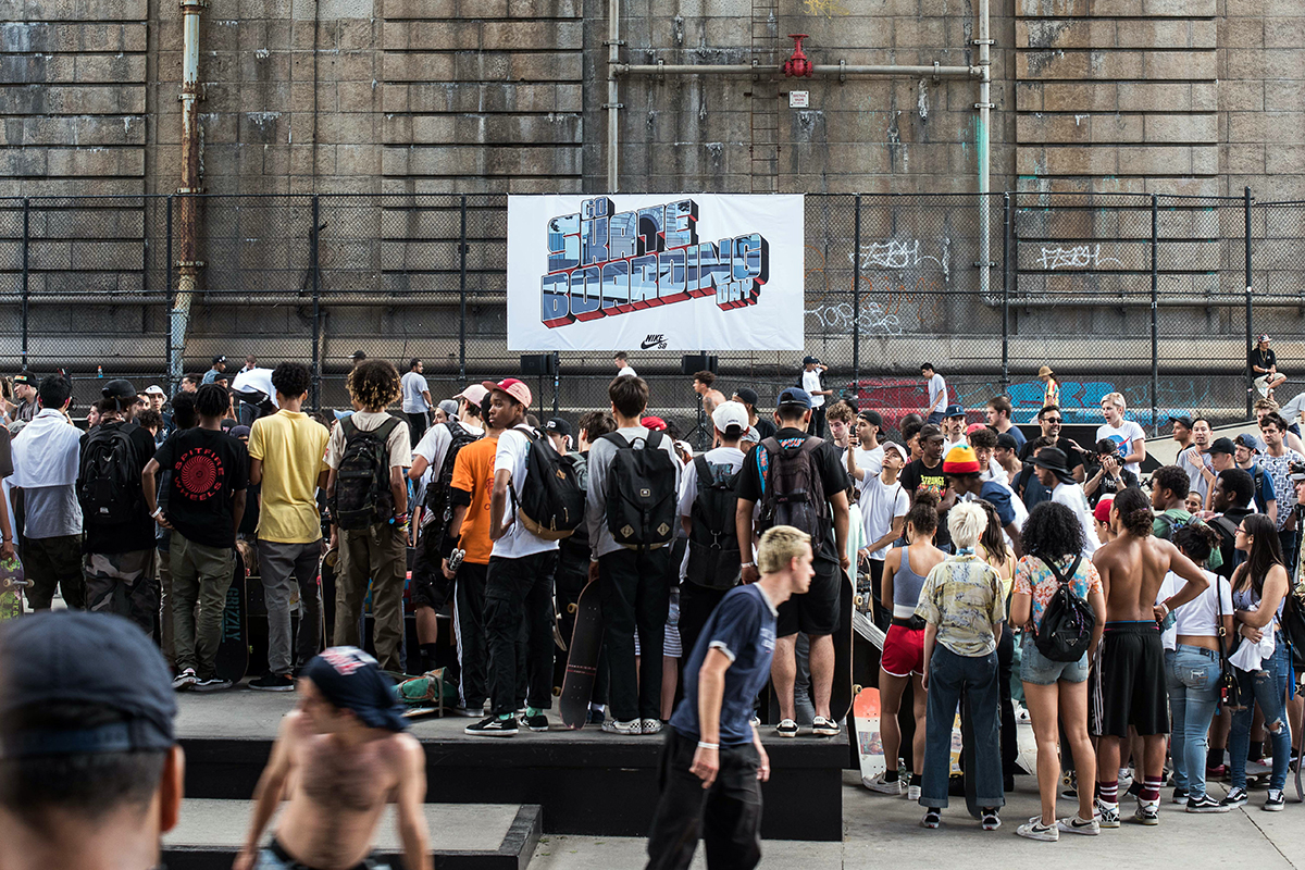 Nike LES Go Skate Day - Crowd