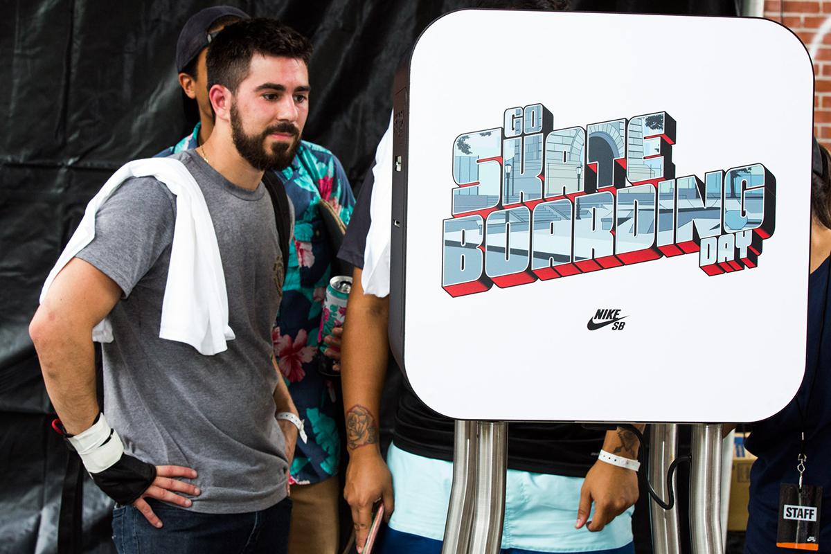 Nike SB Photo Booth