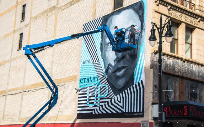 OITNB Detroit Mural WIP