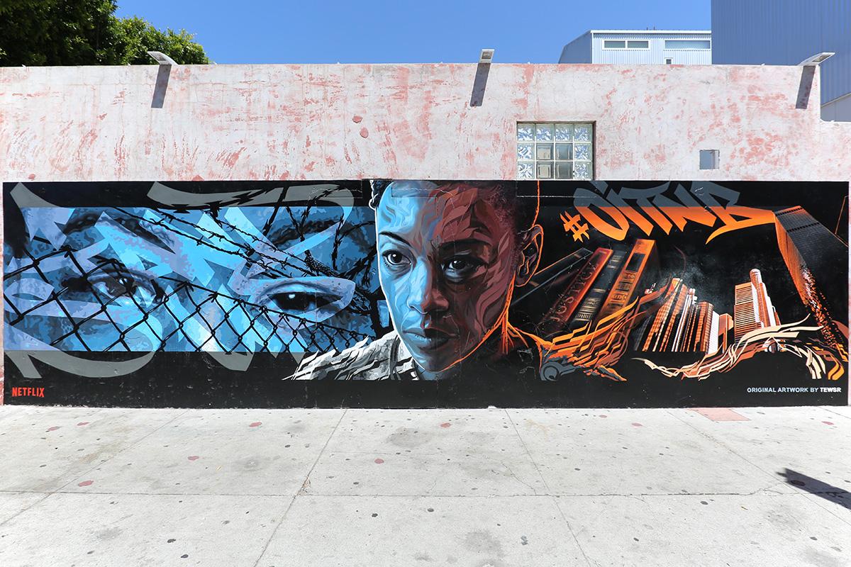 OITNB LA Mural