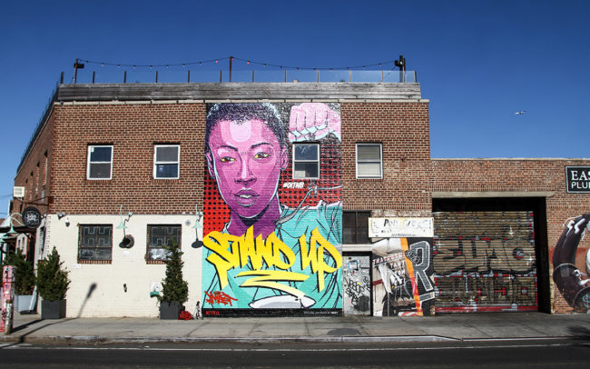 OITNB NYC Mural - Brooklyn