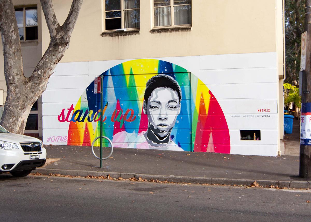 OITNB Sydney Mural