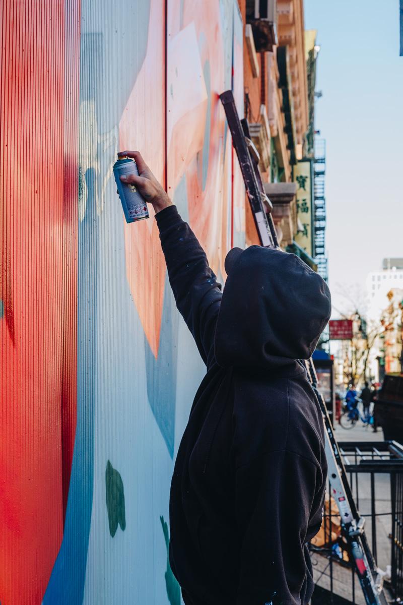 nyc graffiti artist for hire