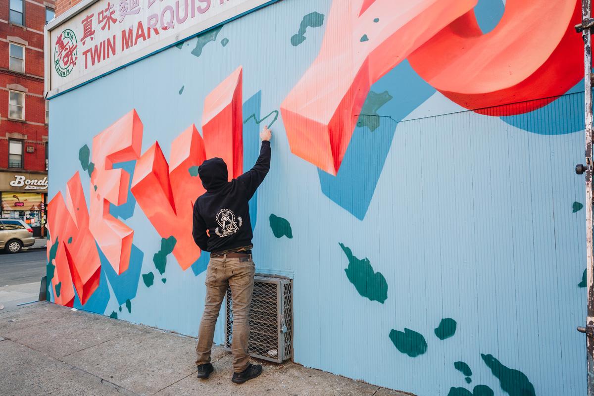 nyc mural artist