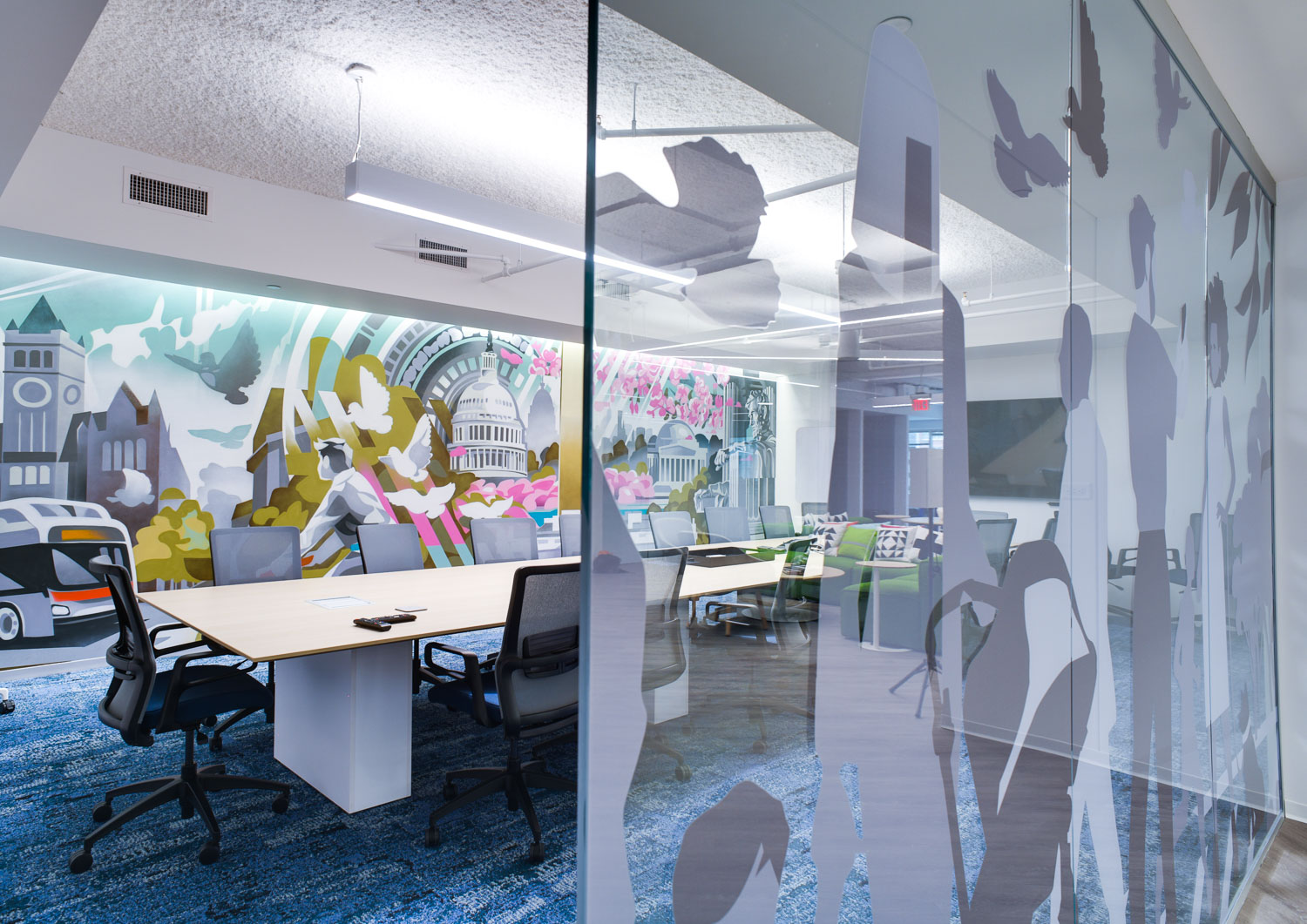 Conference mural