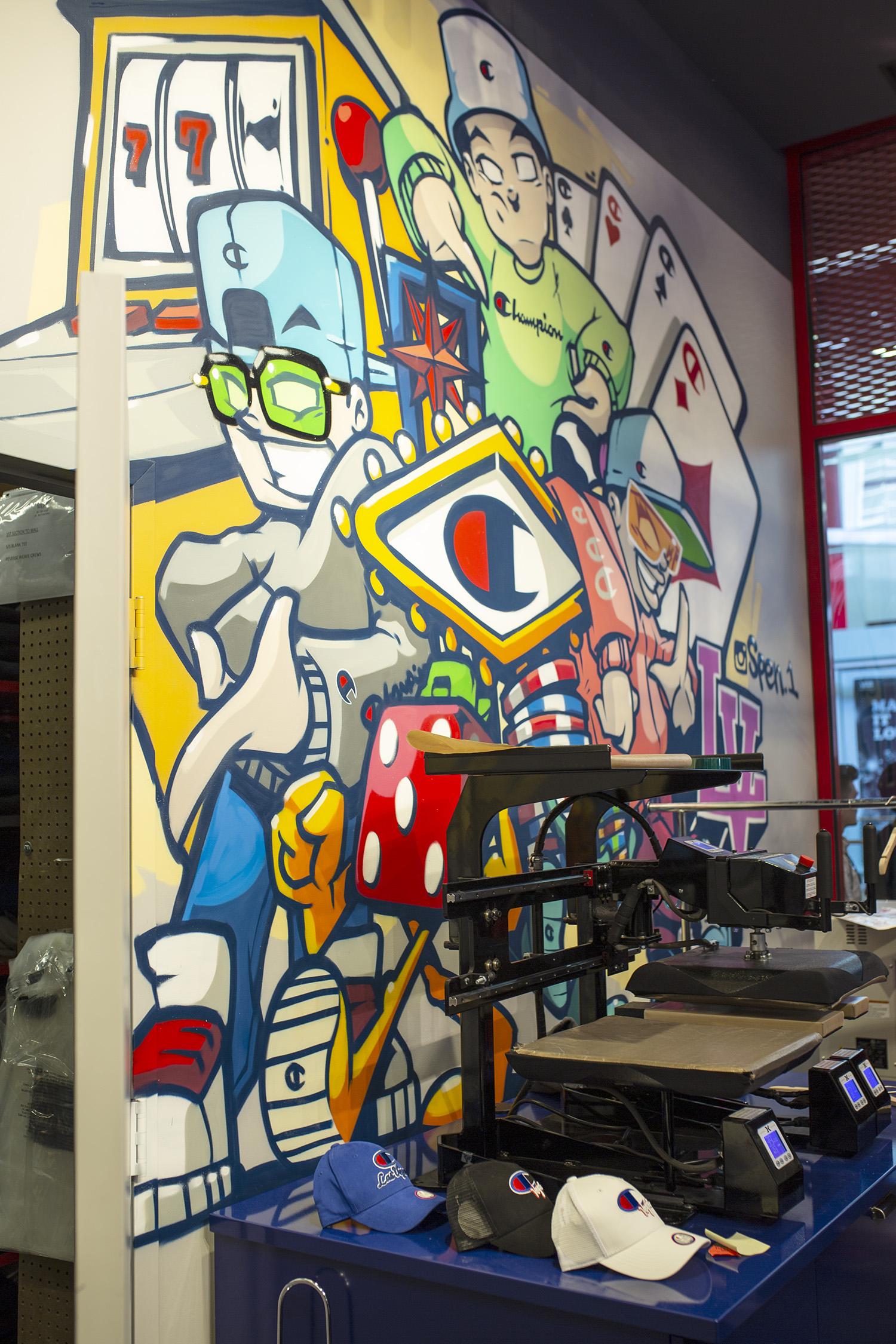 Las Vegas Graffiti Artist for Hire
