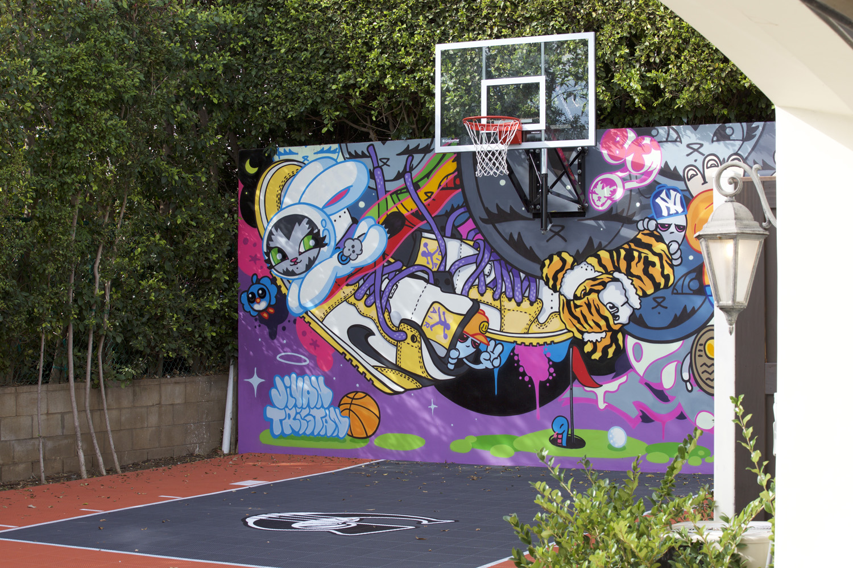 Basketball Court Mural - LA