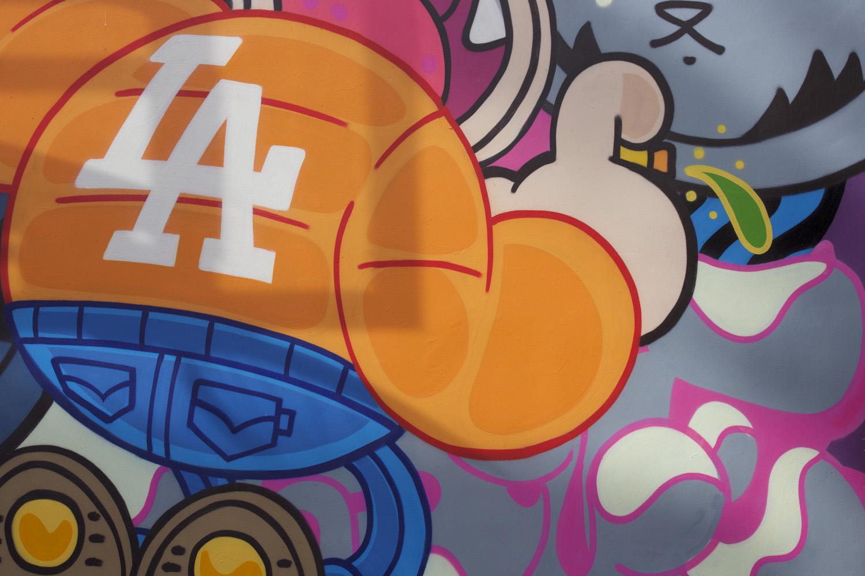 Basketball Court Mural - Persue